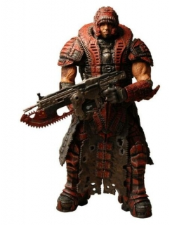 Figurka Dominic in Theron Disguise - Gears of War 2 - Neca