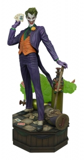 Soška The Joker - DC Comic Super Powers Collection Maquette