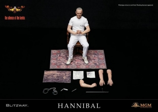 Figurka Hannibal Lecter White Prison Uniform Ver.- The Silence of the Lambs Action Figure 1/6
