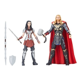 Figurky Thor & Sif - Thor: The Dark World Marvel Legends Series Action Figure 2-Pack