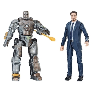 Figurky Tony Stark & Iron Man Mark I - Iron Man Marvel Legends Series Action Figure 2-Pack