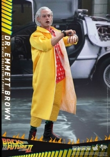 Figurka Dr Emmett Brown - Back to the Future II Movie Masterpiece Action Figure 1/6