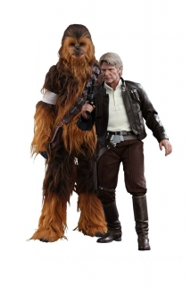 Figurky Han Solo & Chewbacca - Star Wars Episode VII Movie Masterpiece Action Figure 2-Pack 1/6