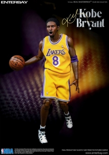Figurka Kobe Bryant Limited Edition Duo Pack - NBA Collection Real Masterpiece Action Figure 1/6