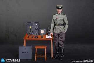 Figurka Gerd - WWII German Communication 3 WH Radio Operator 1/6 Action Figure