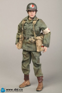 Figurka Dixon - 77th Infantry Division Combat Medic 1/6 Action Figure