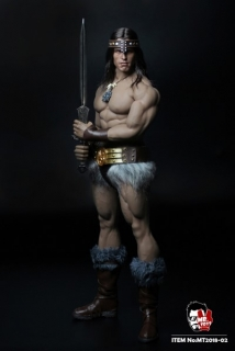 Figurka Conan - Full Custom Barbarian Warrior Set