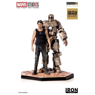 Soška Iron Man Mark I CCXP 2019 Exclusive - Marvel Comics Statue 1/10