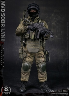 Figurka Russian Spetsnaz MVD - SOBR Lynx 1/6 Military Action Figure
