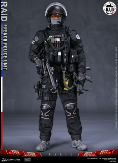 Figurka French Police Unit - Raid Paris 1/6 Military Action Figure