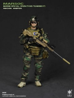 Figurka Recon Sniper - MARSOC MSOT Marine Special Operations Team 1/6 Military Action Figure