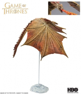 Figurka Viserion Ver. II - Game of Thrones Action Figure
