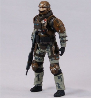Figurka UNSC Marine - Halo Reach: Series 4 Action Figure