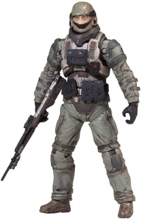 Figurka Sabre Pilot - Halo Reach: Series 6 Action Figure