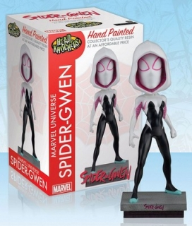 Figurka Spider-Gwen Classic Masked - Marvel Comics Head Knocker Bobble-Head